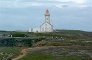 Der Leuchtturm verleitet zu einem Spaziergang