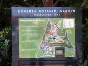 Ein kurzer Spaziergang im «Dunedin Botanic Garden»