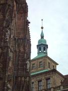 Schöner Blick auf das Glockentürmchen