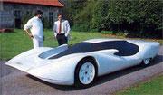 1981 Colani stellt sein 1:1-Modell BMW M2 vor