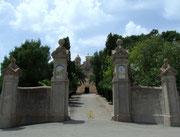 Aufgang zum Tafelberg von Randa