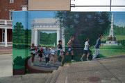 Die fantastischen Mauer-Malereien an den «Vicksburg River Front Murals»