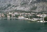 Einfahrt in die hübsche Hafenstadt Kotor