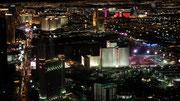 Blick auf Las Vegas. Im Vordergrund das 2000-Betten-Hotel Circus-Circus