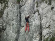 . . . zumindest bei den Kletterern