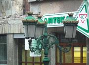 Hübsch restaurierter Beleuchtungskandelaber