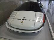 Früher Entwurf für einen grossen Porsche 959 für hohe Leistung