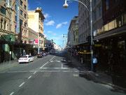 Typische Geschäftsstraße in der Innercity
