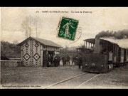 arrivée en gare de Saint Ulphace