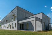 Photographie architecture - Immeuble d'entreprise à Saint-Nazaire - Loire Atlantique - Reportage réalisé pour POUTIER ARCHITECTURES