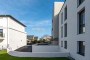 Photographie architecture - Immobilier locatif à Fouesnant - Finistère - Reportage sur un immeuble d'habitations pour ESPACIL