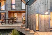Photographie architecture - maison individuelle en bois - Baden - Pour Archiblock