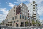 Photo architecture - habitations commerces à Lorient - Morbihan - Pour ESPACIL
