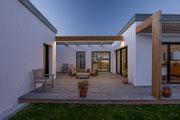 Photographie architecture - Habitation à Billiers - Morbihan - Reportage réalisé pour Archiblock