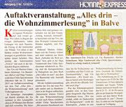 "12-2014 HönneExpress - Auftaktveranstaltung ""Alles drin"""