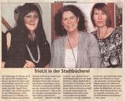 10.02.2015 Süderländer TrioLit in Stadtbücherei