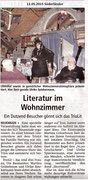 12.05.2015 Süderländer - Literatur im Wohnzimmer, Neuenrade