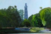 Le phare de la Pointe Vénus HST 38x55 2014