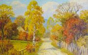 Paysage d'automne (Argentine) 40x60 HST