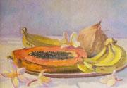 Fruits exotiques 30x40 HST