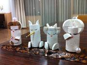 コルクで作られたコルハです。東條麗子先生の作品より