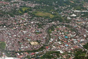 Anflug auf Manado