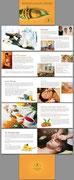 Konzept + Wording der Imagebroschüre für NATURHEILPRAXIS SCHWABING