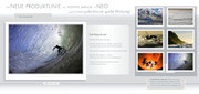 Produkt-Folder für die Firma POSITIVE IMPULSE