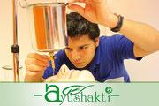 Promotion-Video für die Firma AYUSHAKTI / Indien