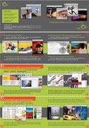 Innenseiten der QUINN-Imagebroschüre