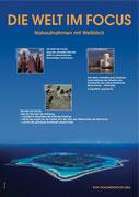 Konzeption + Chefredaktion des Buchwerks DIE WELT IM FOKUS für den WWF
