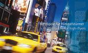 Städte-Reportage über New York für das Buchwerk ERFOLG der OSB