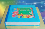 """Торт """"Фотоальбом"""" на выпускной праздник"""