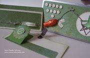 Diesmal eine Weißblechbox, in die das Geldgeschenk zum Geburtstag eines Hobbyanglers eingesteckt werden soll. Auftragsarbeit für unsere liebe Familienfriseurin! ;-)