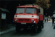 Anfang der neunziger Jahre wurde das Fahrzeug in Eigenleistung überholt                                                                     Foto: FFW Vogelsgrün