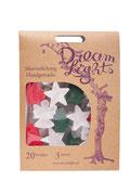 Dream lights handgefertigte Weihnachtsdekoration aus dem Papier des Maulbeerbaum hergestellt