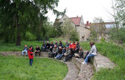 Hofführung mit FÖJ-Gruppe                                     (Foto: A. Rachui)