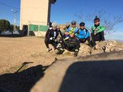Foto de grupo en el Monte Arrazauces