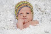 Lennard, der Sohn meiner Freundin; hier eine Woche alt