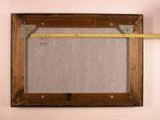 Bilderrahmen Aufhänger; Einrahmungs-Zubehör, Montageanleitung