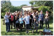 Rencontre familiale à la campagne / Ghislaine