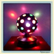 Lámpara bola disco / REF: LAM- 040 / Arriendo: $ 5.000 / Garantía: $ 18.000