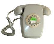 TELEFONO HERALDO DE PARED GRIS / REF: TLF- 010 / 1 Unidad / Arriendo: $ 10.000  / Garantía: $ 40.000