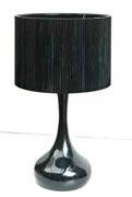 Lámpara Gota Negra / REF: LAMP- 014 / 65 cm. alto / 1 unidad / Arriendo: $ 12.000 / Garantía: $ 30.000