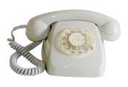 TELEFONO HERALDO DE SOBREMESA GRIS / REF: TLF- 007 / 1 Unidad / Arriendo: $ 8.000  / Garantía: $ 40.000