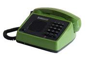 TELEFONO DE SOBREMESA VERDE CON PARLANTE / REF: TLF- 004 / 1 Unidad / Arriendo: $ 10.000  / Garantía: $ 40.000