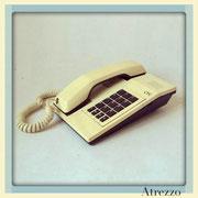 TELEFONO SOBREMESA CTC BEIGE BOTONES CAFE / REF: TLF- 025 / 1 Unidad / Arriendo: $ 8.000  / Garantía: $ 40.000
