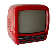 "MINI TV RETRO TOPSONIC ROJO 9"" (REF: TV-006) / ARRIENDO: $15.000 / GARANTIA: $80.000 *FUNCIONA"