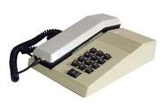 TELEFONO SOBREMESA BLANCO BOTONES NEGROS / REF: TLF- 008 / 1 Unidad / Arriendo: $ 8.000  / Garantía: $ 40.000