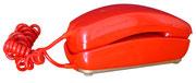 TELEFONO GONDOLA ROJO / REF: TLF- 012 / 1 Unidad / Arriendo: $ 10.000  / Garantía: $ 40.000